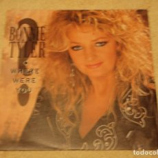 Discos de vinilo: BONNIE TYLER ( WHERE WERE YOU - I CAN'T LEAVE YOUR LOVE ALONE ) 1992-GERMANY SINGLE45 HANSA. Lote 95809111