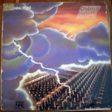 Discos de vinilo: FUTURE WORLD ORCHESTRA – TURNING POINT LP 1983 ELECTRO, SYNTH-POP, DISCO . Lote 95809143