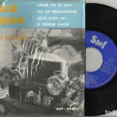 Discos de vinilo: PATRICK JAQUE EP AMOR YO TE DOY + 3 - ESPAÑA 1961. Lote 95813471