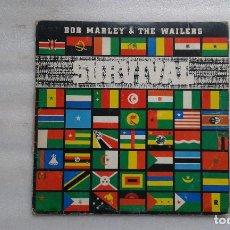 Discos de vinilo: BOB MARLEY AND THE WAILERS - SURVIVAL LP 1979 EDICION ESPAÑOLA. Lote 95815559