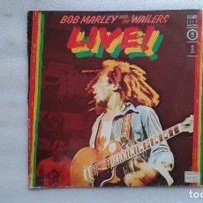 Discos de vinilo: BOB MARLEY AND THE WAILERS - LIVE ! LP 1978 EDICION ESPAÑOLA. Lote 95815711
