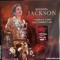 Discos de vinilo: MICHAEL JACKSON THERE'S A LOVE THAT CANNOT LIE / 3 LPS DE COLORES - EDICION NUMERADA. Lote 95817259
