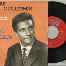 Discos de vinilo: PIERRE GUILLERMIN INTERPRETA A GILBERT BECAUD EP VIENS DANSER + 3.ESPAÑA 1959.RAREZA. Lote 95817275