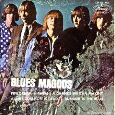 Discos de vinilo: EP BLUES MAGOOS PIPE DREAM SUEÑO EXTRAÑO 45 SPANISH RARE 1970 PSYCH ROCK GARAGE. Lote 95822387