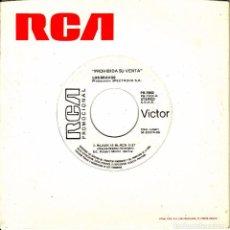 Discos de vinilo: SINGLE LOS BRAVOS BLACK IS BLACK / BRING A LITTLE LOVIN' 45 SINGLE SPAIN RCA 1986. Lote 95822775