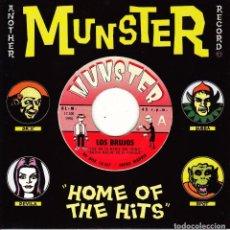 Discos de vinilo: EP LOS BRUJOS BURBUJAS SONICAS 45 SPAIN 1994 PSYCH POWER POP FLEUR DE LYS MOD. Lote 95823335