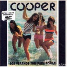 Discos de vinilo: COOPER LOS VERANOS SON PARA SOÑAR 45 SPAIN 2011 ELEFANT LIMITED VINYL MOD. Lote 95827575