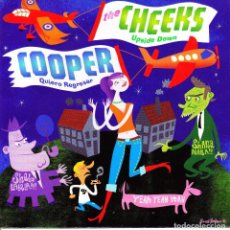 Discos de vinilo: SINGLE THE CHEEKS UPSIDE DOWN COOPER QUIERO REGRESAR GERMANY 2003 POWER POP MOD 45. Lote 109739578