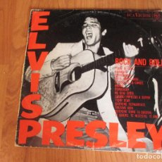 Discos de vinilo: ELVIS PRELEY - EL ROCK AND ROLL DE ELVIS - RCA - SPAIN - T - . Lote 95833403