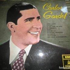 Discos de vinilo: CARLOS GARDEL MINI LP 10 PULGADAS - ORIGINAL ESPAÑOL - EMI/ODEON RECORDS 1958 MUY NUEVO (5). Lote 95836439
