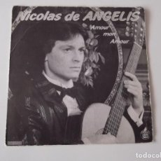 Discos de vinilo: NICOLAS DE ANGELIS - AMOUR MON AMOUR. Lote 95838599