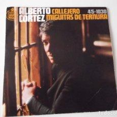 Discos de vinilo: ALBERTO CORTEZ - CALLEJERO. Lote 95839099
