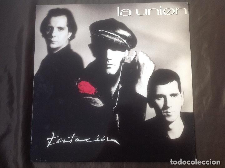 LA UNIÓN TENTACIÓN WEA RECORDS 1990 (Música - Discos - LP Vinilo - Grupos Españoles de los 90 a la actualidad)