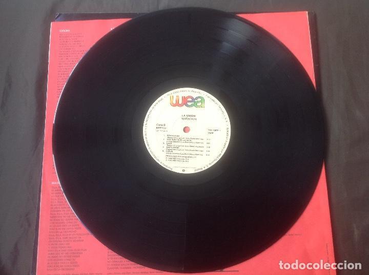 Discos de vinilo: La unión Tentación WEA Records 1990 - Foto 5 - 95839319