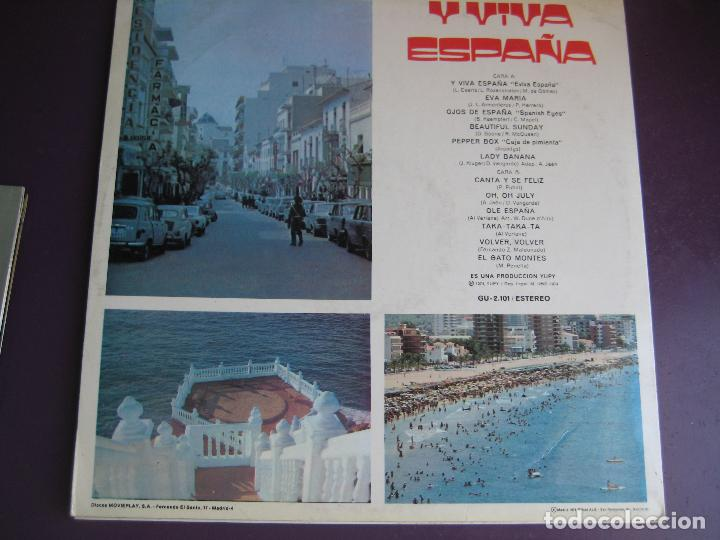 Discos de vinilo: BENIDORM 74 LP YUPY - VERSIONES DE EXITOS DEL VERANO - SEXY COVER - - Foto 2 - 95839847