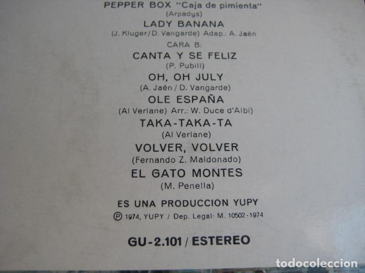 Discos de vinilo: BENIDORM 74 LP YUPY - VERSIONES DE EXITOS DEL VERANO - SEXY COVER - - Foto 4 - 95839847
