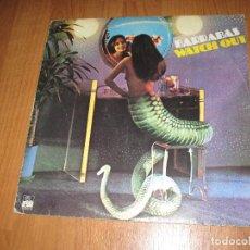 Discos de vinilo: BARRABAS - WATCH OUT - SPAIN - ARIOLA - T -. Lote 95840571