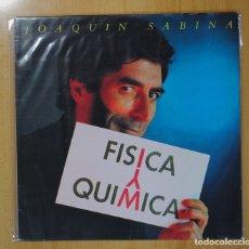 Discos de vinilo: JOAQUIN SABINA - FISICA Y QUIMICA - LP. Lote 95859370