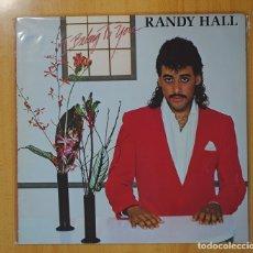 Discos de vinilo: RANDY HALL - I BELONG TO YOU - LP. Lote 95859638