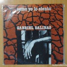 Discos de vinilo: GABRIEL SALINAS - COMO YO LO SIENTO - LP. Lote 95859916
