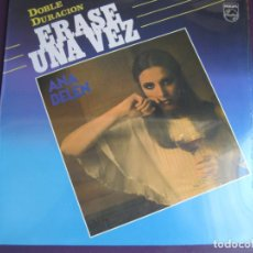Discos de vinilo: ANA BELEN LP PHILIPS 1985 RECOPILACION - ERASE UNA VEZ - 17 CANCIONES 1ª EPOCA . Lote 95861483