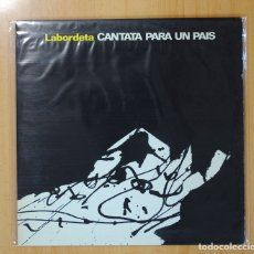 Discos de vinilo: LABORDETA - CANTATA PARA UN PAIS - GATEFOLD - LP. Lote 95861570