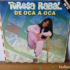 Discos de vinilo: TERESA RABAL -DE OCA A OCA -CHULAPITO -. Lote 95861763