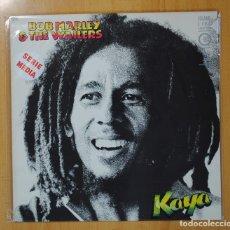 Discos de vinilo: BOB MARLEY & THE WAILERS - KAYA - LP. Lote 95861807
