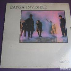 Discos de vinilo: DANZA INVISIBLE EP ARIOLA 1983 SUEÑOS DE INTIMIDAD/ DIARIO OCULTO + 2 SYNTH POP - DARK WAVE - . Lote 95861967