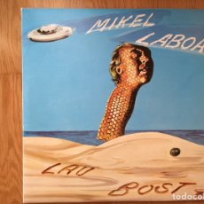 Discos de vinilo: MIKEL LABOA: LAU BOST (PRIMERA EDICIÓN XOXOA X-11.146 1980) CON LIBRETO. Lote 95865780