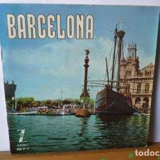 Discos de vinilo: BARCELONA -QUE BONITA ES BARCELONA -ES LA RAMBLA Y4 MAS DISCO DE 6 CANCIONES A 33 RPM. Lote 95866631