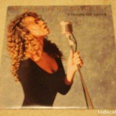 Discos de vinilo: MARIAH CAREY ( VISION OF LOVE - PRISONER ALL IN YOUR MIND SOMEDAY ) 1990-HOLANDA SINGLE45 CBS. Lote 130226342