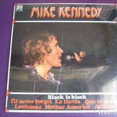 Discos de vinilo: MIKE KENNEDY LP CAUDAL 1977 - LOS BRAVOS - RECOPILATORIO DE 10 CANCIONES. Lote 95868591
