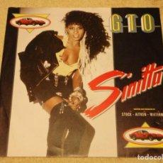 Discos de vinilo: SINITTA ( G.T.O. 2 VERSIONES ) 1987-SCANDINAVIA SINGLE45 MEGA RECORDS. Lote 95870955