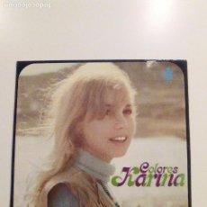 Discos de vinilo: KARINA COLORES ( 1970 HISPAVOX ESPAÑA 1981 ) BUEN ESTADO. Lote 95871523