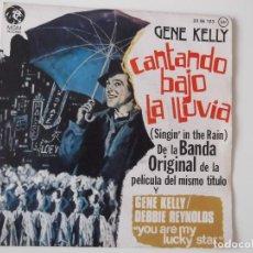 Discos de vinilo: GENE KELLY - CANTANDO BAJO LA LLUVIA. Lote 95876043