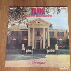 Discos de vinilo: ELVIS PRESLEY - RECORDED LIVE ON STAGE IN MEMPHIS - RCA - SPAIN - REEDICION 1987 - T - . Lote 95876835