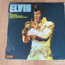 Discos de vinilo: ELVIS PRESLEY - ELVIS - RCA - SPAIN - T - . Lote 95876971