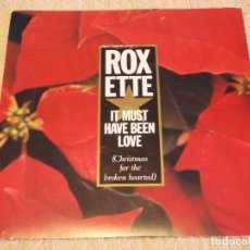Discos de vinilo: ROXETTE ( IT MUST HAVE BEEN LOVE - TURN TO ME ) 1987-SWEDEN SINGLE45 EMI SVENSKA AB. Lote 95878927