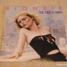 Discos de vinilo: BLONDIE ( THE TIDE IS HIGH - SUSIE AND JEFFREY ) ENGLAND-1980 SINGLE45 CHRYSALIS. Lote 95879171