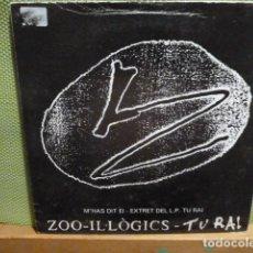 Discos de vinilo: ZOO-IL.LOGICS-M,AS DIT EI - TU RAI -. Lote 95879955