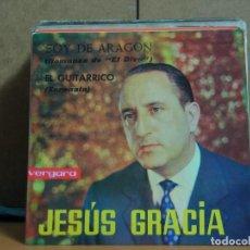 Discos de vinilo: JESÚS GRACIA - SOY DE ARAGÓN / EL GUITARRICO - VERGARA 55.0.029 C - 1963. Lote 95882743