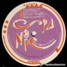 Discos de vinilo: SPANIC, TODO EL MUNDO VA A VIVIR, MAXISINGLE 1992. Lote 95884775