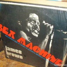 Discos de vinilo: JAMES BROWN - SEX MACHINE -RECORDED LIVE AT HOME IN AUGUSTA, GEORGIA WITH HIS BAD SELF - LP 1974. Lote 95885015