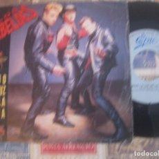 Discos de vinilo: LOS REBELDES BAJO LA LUZ DE LA LUNA (EPIC 1988 ) OG ESPAÑA. Lote 95886235