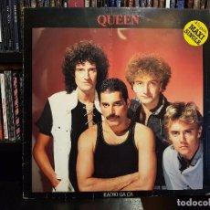 Discos de vinilo: QUEEN - RADIO GA GA. Lote 95888523