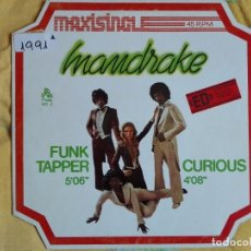 Discos de vinilo: MAXI - MANDRAKE - FUNK TAPPER / CURIOUS (SPAIN, PHONIC RECORDS 1978). Lote 95890567