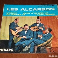 Discos de vinilo: LES ALCARSON-EP- QUAND TU ME DIRAS OUI+3-FRANCE PHILIPS. Lote 95891931