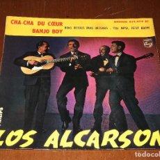 Discos de vinilo: LOS ALCARSON-EP- BANJO BOY+3-FRANCE-PHILIPS. Lote 95892135