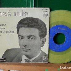 Discos de vinilo: JOSE LUIS Y SU GUITARRA -MARIQUILLA -Y 3 MAS VINILO AMARILLO . Lote 95892407